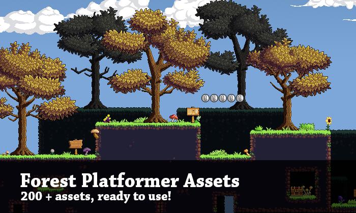 Forest Platformer Assets
