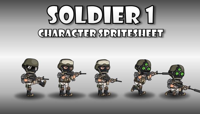 Soldier Spritesheet 1