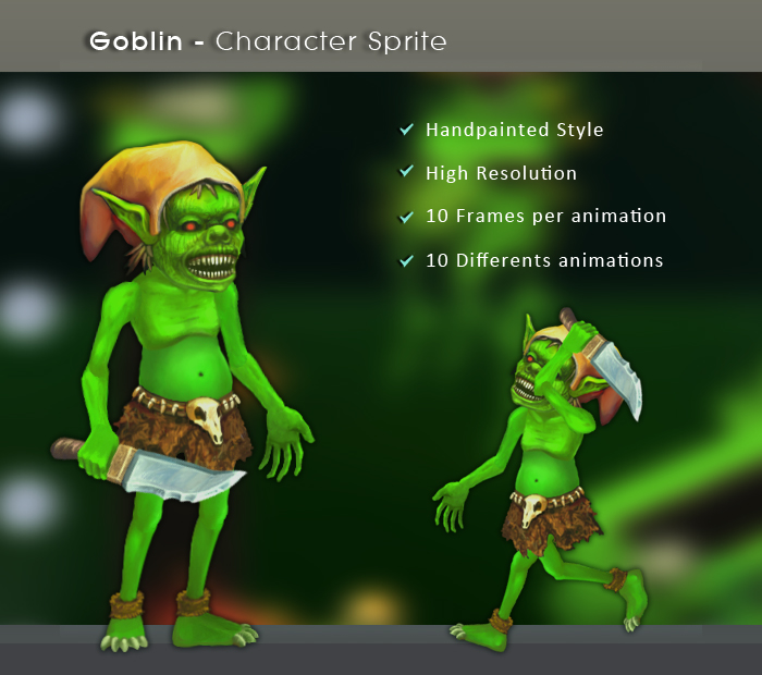 Goblin – Character Sprite