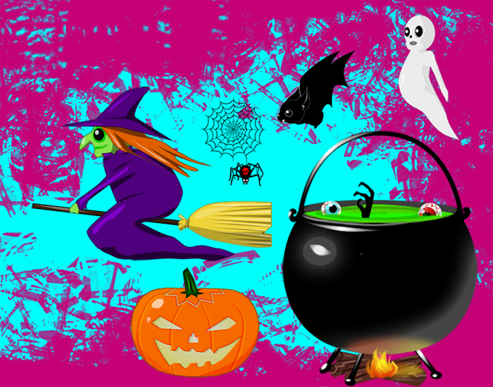 Halloween Animated Characters