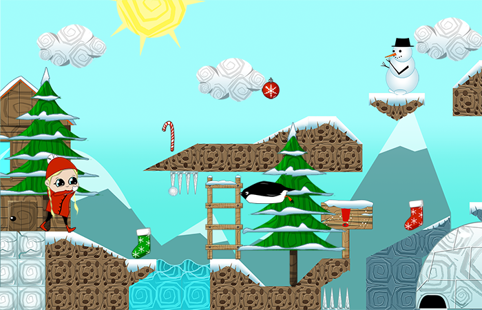 Winter tale platformer pack