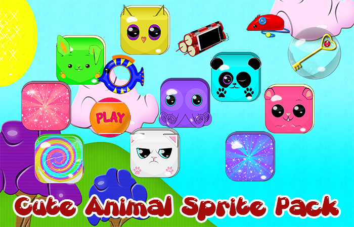 Cute Animal Match Game Pack