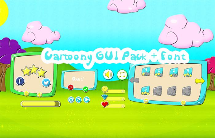 Cartoony GUI Pack