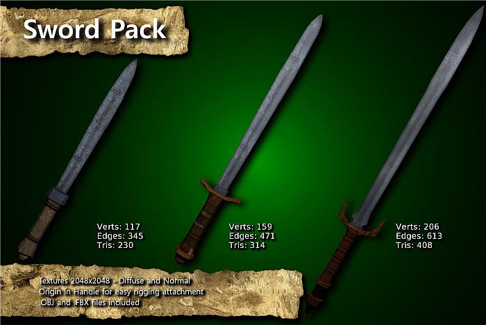 Medieval Sword Pack