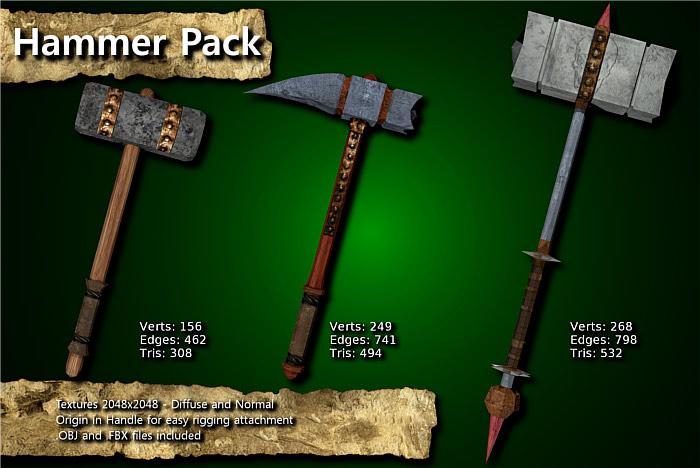 Medieval Hammer Pack