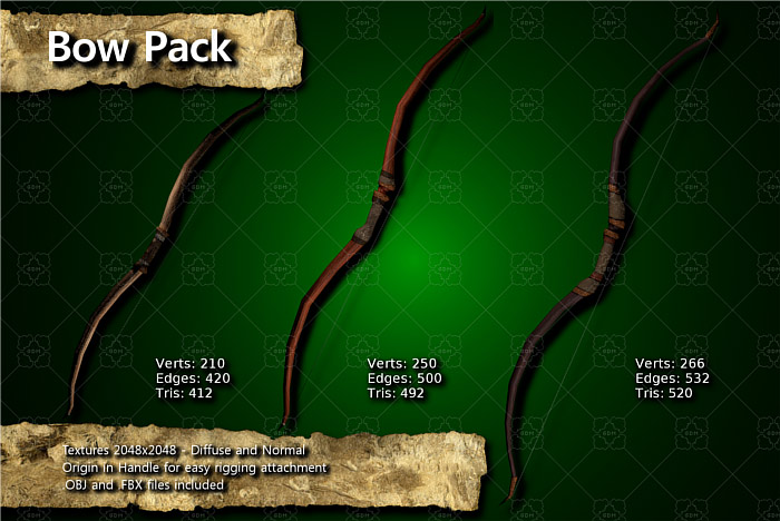 Medieval Bow Pack