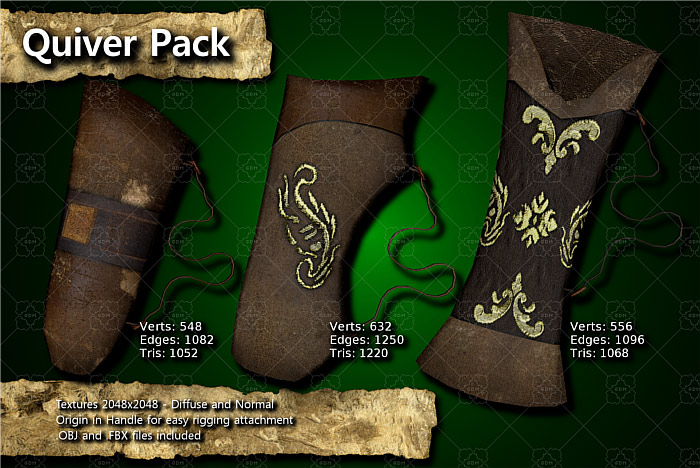 Medieval Quiver Pack
