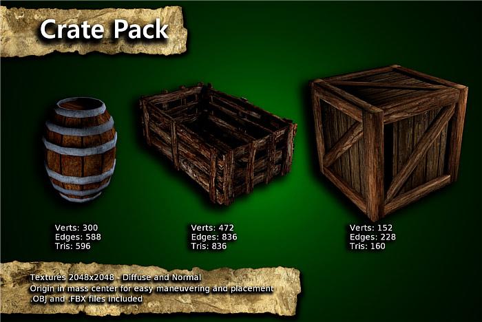 Medieval Crate Pack