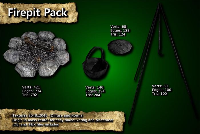 Firepit Pack