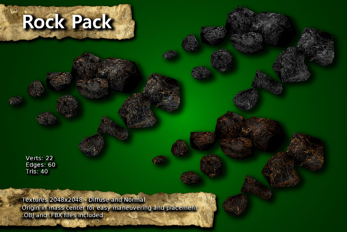 Rocks Pack