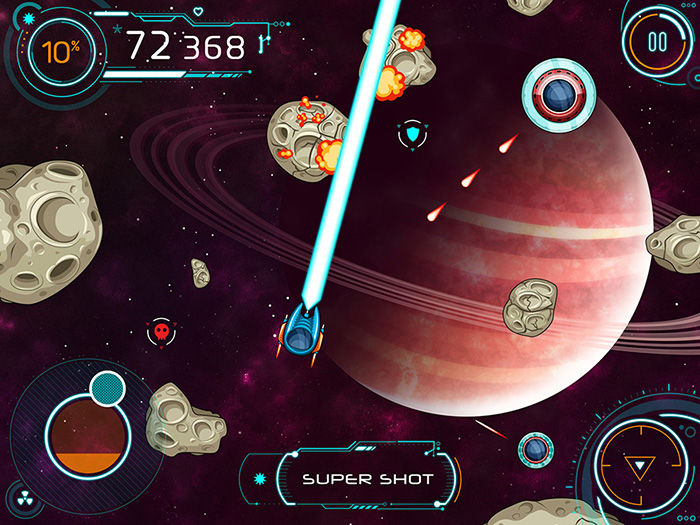 Asteroids Crusher – Game Assets
