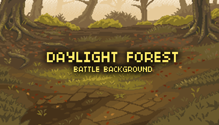 Day Light Forest Battle Background