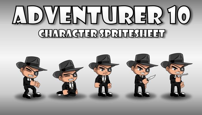 Adventurer Spritesheet 10
