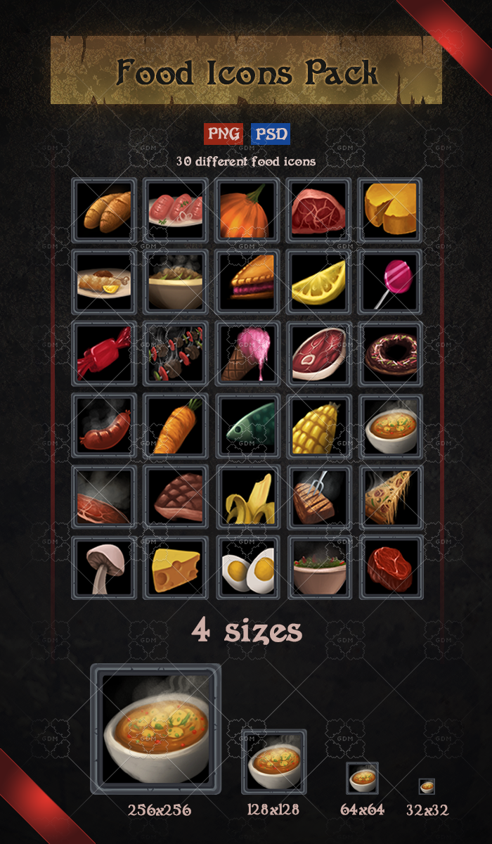 Food Icons Pack
