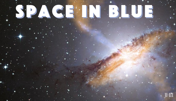 Space in Blue