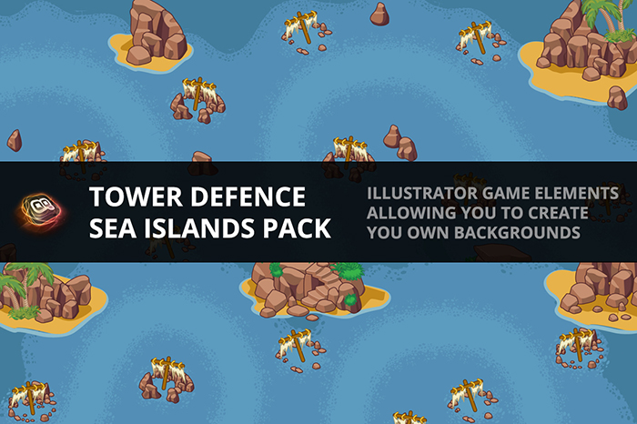 Tower Defence – Sea Island Pack 1
