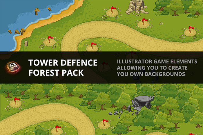 Tower Defence – Forest Pack 1