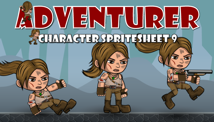 Adventurer Spritesheet 9