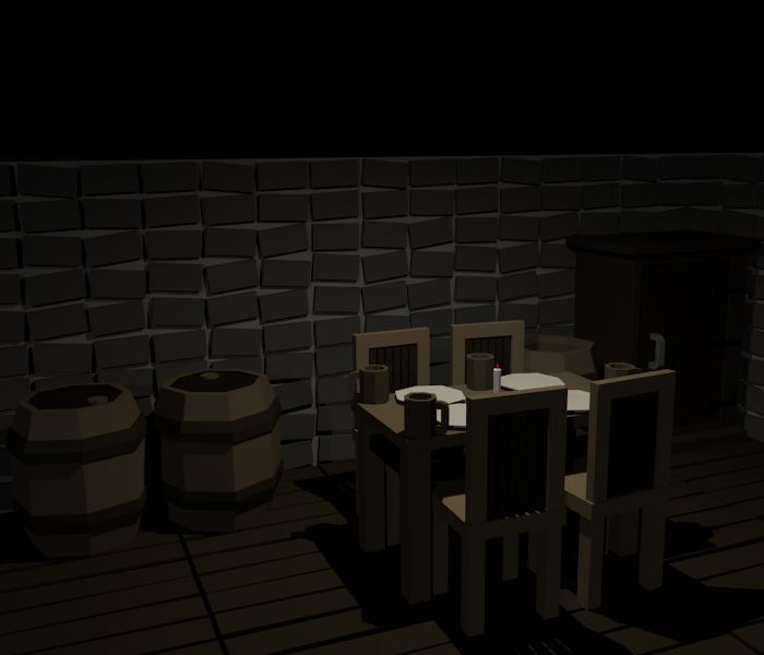 Low Poly Medieval Furniture