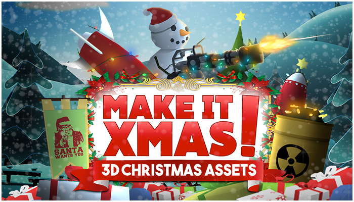 Make it Xmas! 3D Christmas Assets