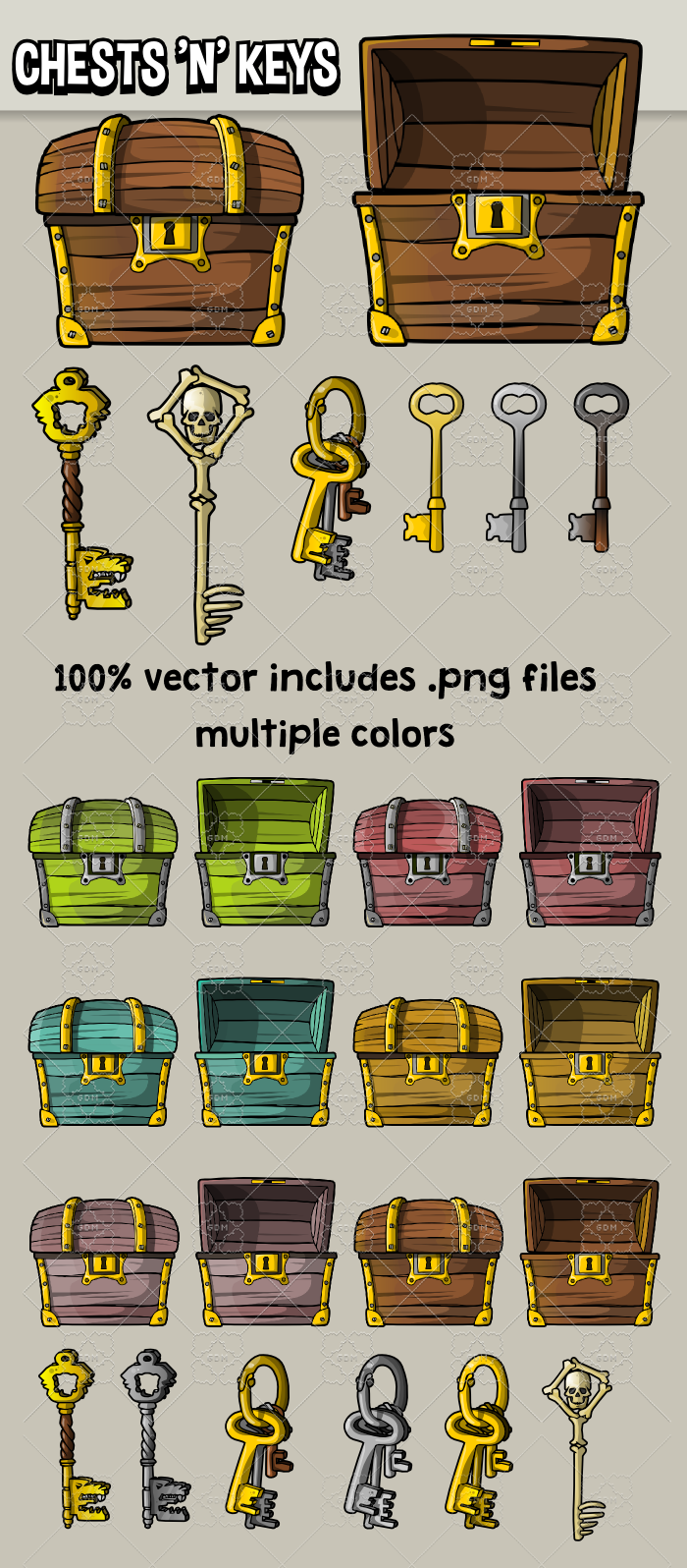 Chests n Keys