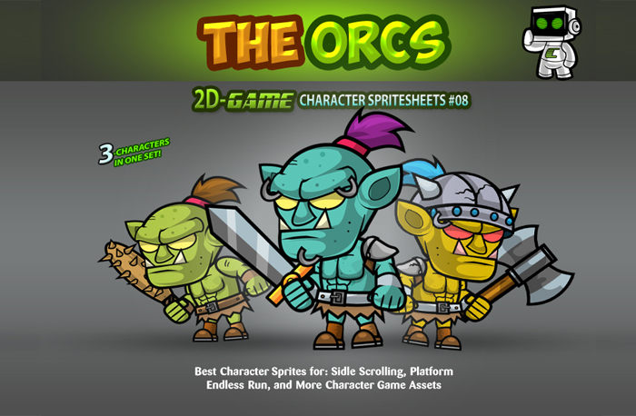 The Orcs Game Character Sprites 08