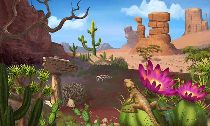 2D Desert Pack – Handcrafted Art