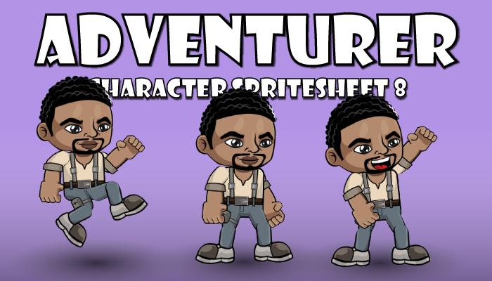 Adventurer Spritesheet 8