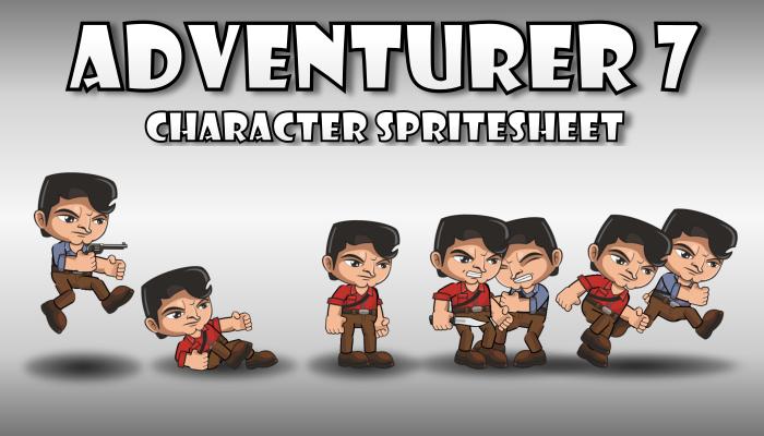 Adventurer Spritesheet 7