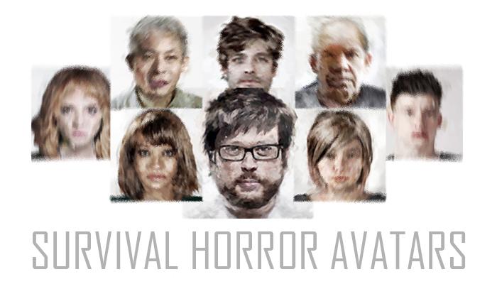 Survival Horror Character Avatars