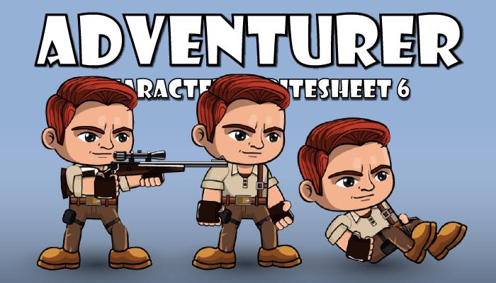 Adventurer Spritesheet 6