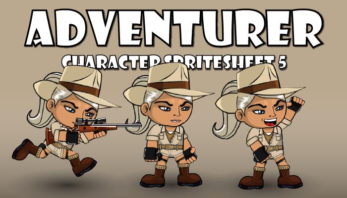 Adventurer Spritesheet 5
