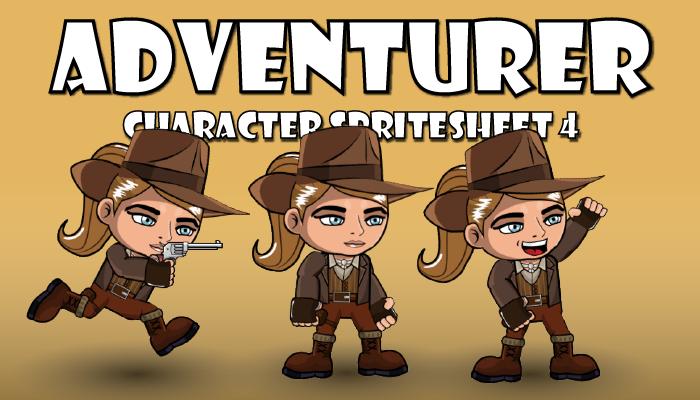 Adventurer Spritesheet 4