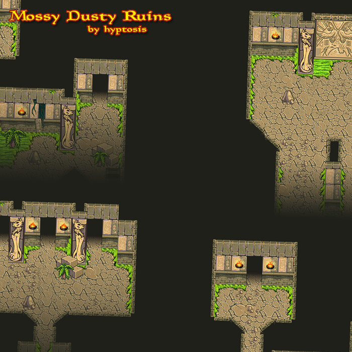 Dust/Moss Ruins