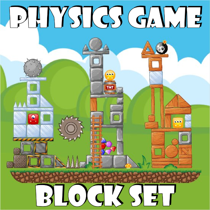 Physics Game Block Set