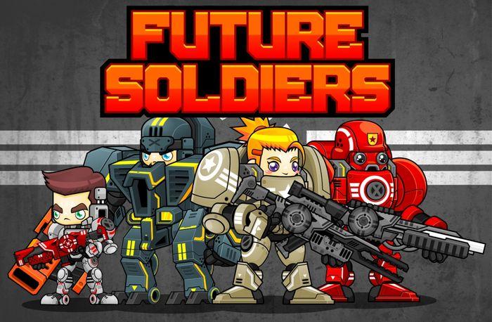 Future Soldiers – Game Sprites