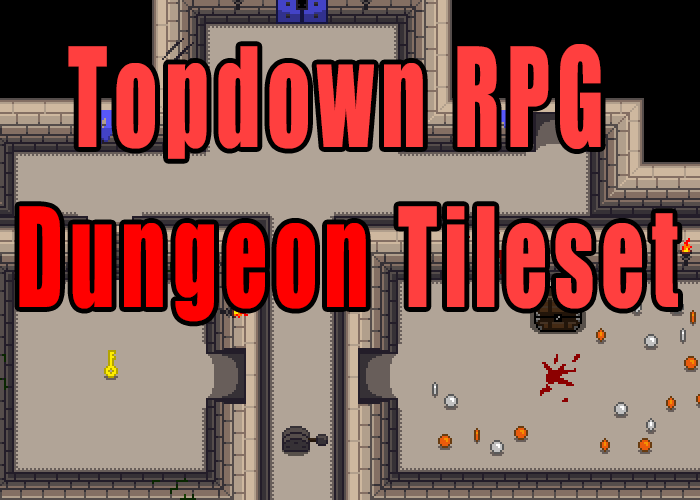 Topdown RPG Dungeon Tileset