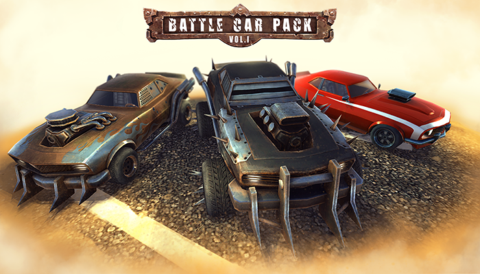 Battle Car Pack Vol.1