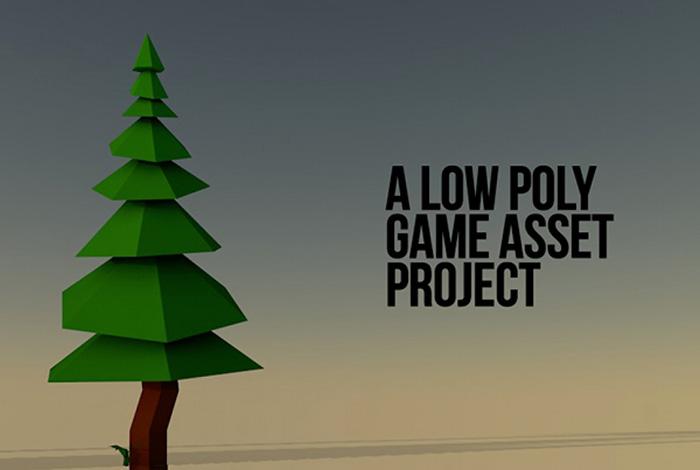 Lowpoly Pinewood Set