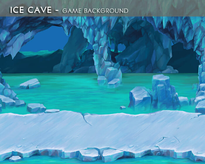 Ice Cave – Game Background