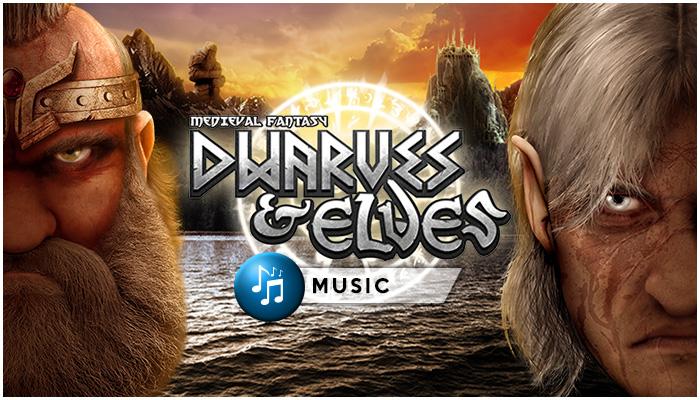 Dwarves and Elves Music Pack