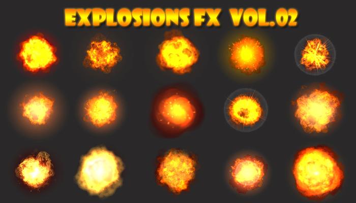 Explosions FX Vol.02