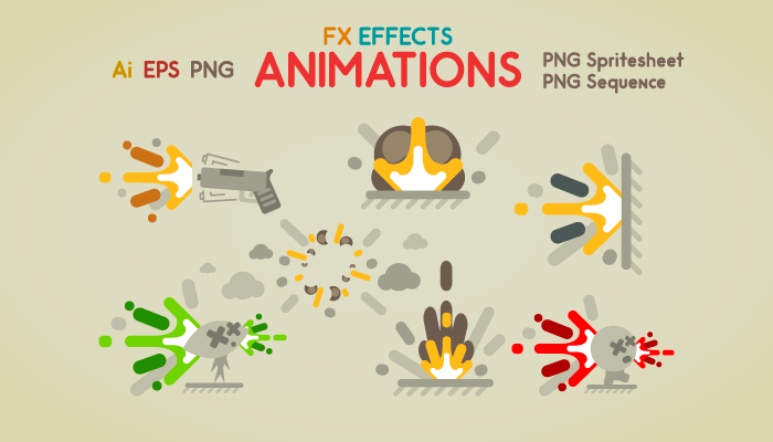 FX Effects Animations