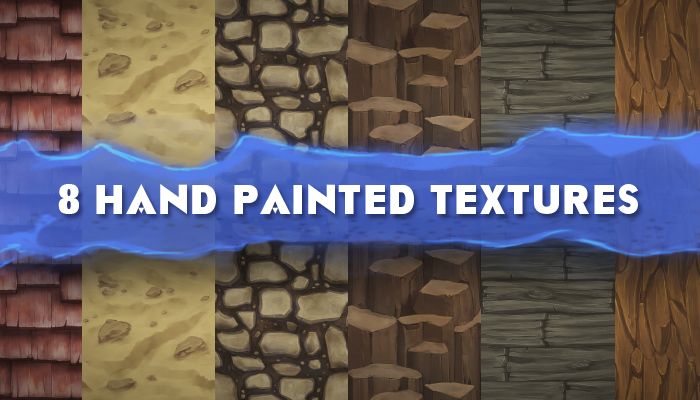 HAND PAINTED TEXTURES 2