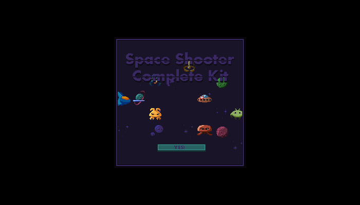 Space Game Full Assets
