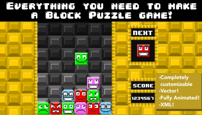 Everything you need to make a Block Puzzle Game – Pixel Style