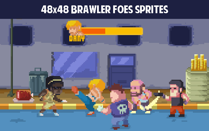 48×48 brawler foes sprites