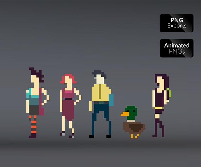 Pixel University Pack