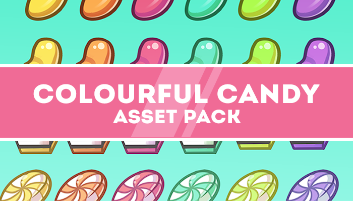 Colourful Candy Asset Pack