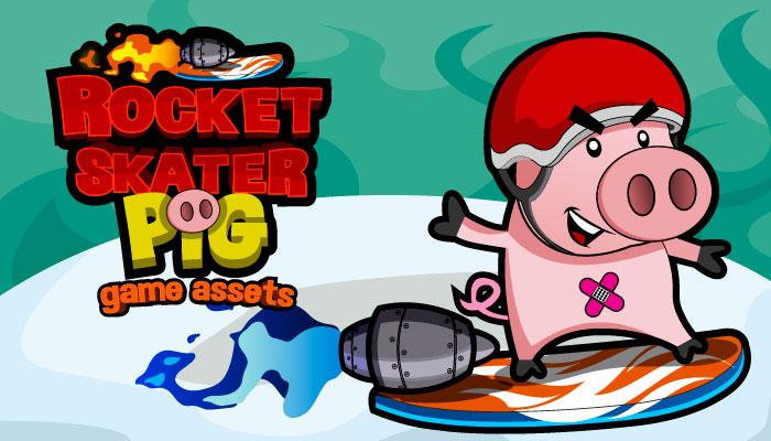 Rocket Skater Piglet